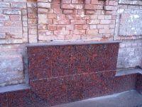 Гранитная плитка, Коростышев - плитка из гранита для облицовки могилы