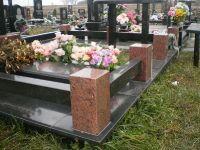Ограды из гранита на могилу, ограда для памятника, ритуальные оградки из камня
